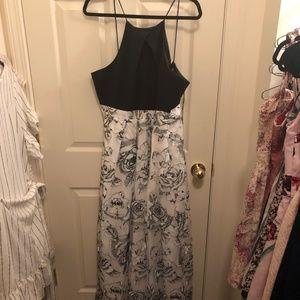 Formal maxi dress halter